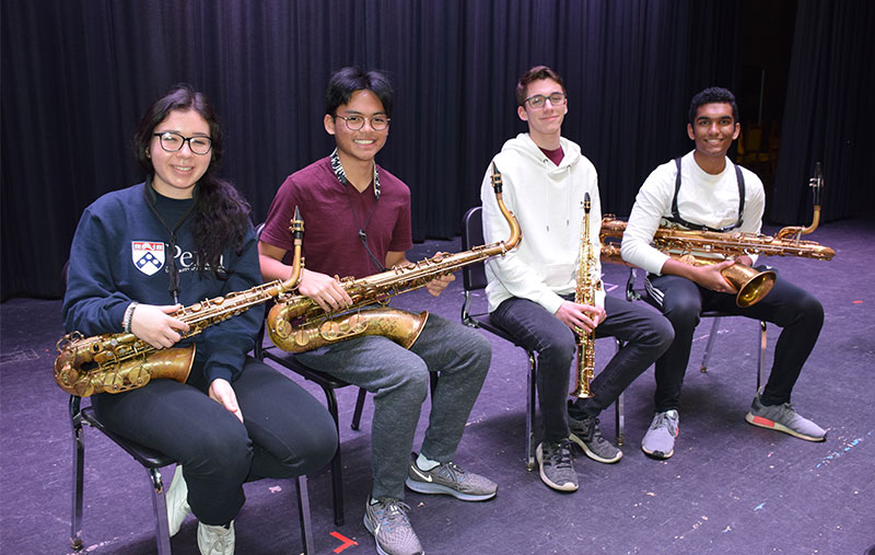 Clarke Quartet Performs in Young Musicians Concert